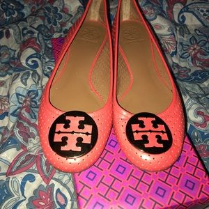 Tory Burch perforated flats